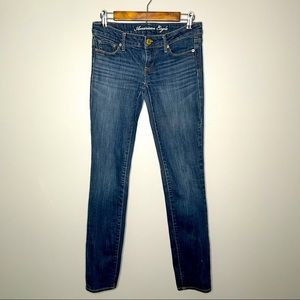 Low-rise American Eagle Skinny Jeans